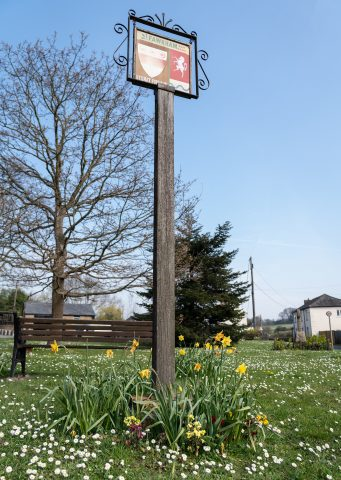 photo of village sign