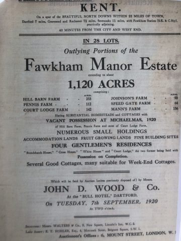 photo of old document