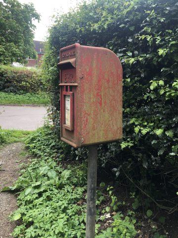 dirty post box