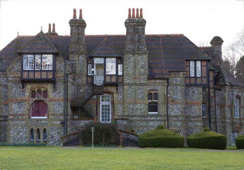 photo of Manor House wit large chimneys