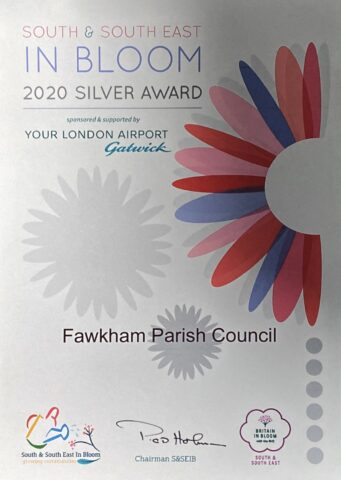 certificate showing a silver award